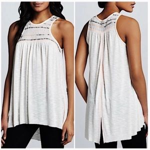 Free People Electric Light Sequin Tunic Tank Top S